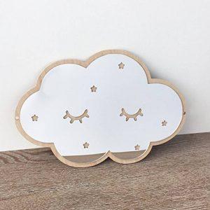 Etopfashion 3D Stickers muraux de miroir de miroir, nuages bricolage acrylique Stickers muraux pour bébé chambre d'enfant décor de chambre de la marque Etopfashion image 0 produit