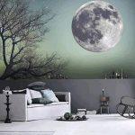 Extsud Sticker Mural Lumineux Autocollant Fluorescent Motif de Lune 30cm pour Chambre d'Enfant Bébé de la marque Extsud image 2 produit