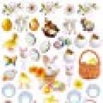 Eyelike Easter: Reusable Stickers de la marque N/D image 3 produit