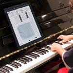 Faburo 2pcs Autocollants amovibles pour notes de piano Stickers transparents pour Clavier de piano 54,61,88 touches et 2pcs Chiffons à piano de la marque Faburo image 4 produit