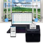 Festnight Imprimantes à reçu Thermique Imprimante BT Prise 58MM EU Plug QR Code Barcode Sticker Adhésif Imprimante de la marque Festnight-1 image 4 produit