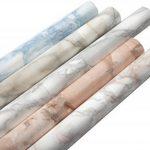 Film adhésif décoratif pour meuble effet matière MARBRES GRIS 67,5 x 200 cm, imperméable PVC, sans phtalates, 53362 de la marque Venilia image 3 produit