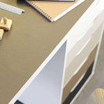 Film adhésif décoratif pour meuble uni mat NOIR 45 x 200 cm, imperméable PVC, sans phtalates, 53290 de la marque Venilia image 2 produit