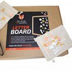 FoxyAssort Tableau Noir Instagram 350 Lettres, Chiffres, Emojis Blanc, Or, Rose. Idéal pour décoration, Cadeau de la marque FoxyAssort image 2 produit