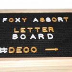 FoxyAssort Tableau Noir Instagram 350 Lettres, Chiffres, Emojis Blanc, Or, Rose. Idéal pour décoration, Cadeau de la marque FoxyAssort image 3 produit
