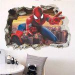 Grand 3D Spiderman XXXL Homme araignée Grand Énorme mur Autocollants Enfants Garçons Chambre Decal art Mural Décor Décoration de la marque Deco-online image 2 produit