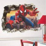 Grand 3D Spiderman XXXL Homme araignée Grand Énorme mur Autocollants Enfants Garçons Chambre Decal art Mural Décor Décoration de la marque Deco-online image 3 produit