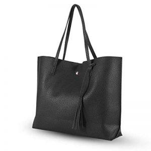 Grand Sacs à Main Femme PU cuir Sac Fourre-tout à Bandoulière Epaule pour Shopping de la marque Sonnelacht image 0 produit