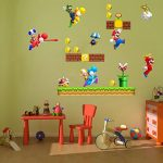 Grands stickers muraux Super Mario pour chambre de garçon Art Mural Mario/Luigi/Yoshi de la marque COLORFUN image 2 produit