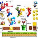 Grands stickers muraux Super Mario pour chambre de garçon Art Mural Mario/Luigi/Yoshi de la marque COLORFUN image 4 produit