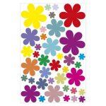 Graz design sticker mural décoratif motif fleurs design 1–114 stickers à 3 feuilles a4/wandkleber sticker mural/autocollant décoratif pour chambre d'enfant, salle de séjour, chambre à coucher ou comme cadeau de la marque geschenke-fabrik-de image 1 produit