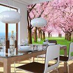 GREAT ART Affiche de Fleurs de Cerisier du Printemps Peinture Murale de décoration du Paysage Naturel Avenue de Fleurs Sakura Bloom Fleurs de Cerisier | Mur Deco Poster Mural Image by (140 x 100 cm) de la marque GREAT-ART image 3 produit