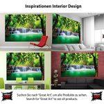 GREAT ART Carte du monde décoration murale vintage–décoration murale rétro Motif Poster XXL Worldmap by (140x 100cm) de la marque GREAT-ART image 3 produit