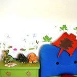 Grenouille de 16 pièces Sticker mural pour chambre de Chambre de bébé, multicolore, 2x 16x26cm de la marque Samunshi image 1 produit