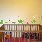 Grenouille de 16 pièces Sticker mural pour chambre de Chambre de bébé, multicolore, 2x 16x26cm de la marque Samunshi image 2 produit