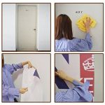 Gwell Papier Porte Sticker Trompe l'œil Auto-adhésif Imperméable Amovible PVC Autocollant pour Chambre Salle de Bains Girafe 2 de la marque GWELL image 4 produit
