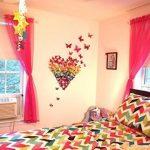 haimoburg 72pièces 6couleurs 3d stickers muraux stickers mural pour maison, chambre décoration Papillons 12pièces Bleu + 12pièces jaune + 12pièces vert + 12pièces rouge + 12pièces rouge pourpre + 12pièces Violet de la marque HaimoBurg image 4 produit