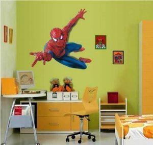 Hero Spiderman Grand sticker mural Spiderman pour chambre d'enfant de la marque Spiderman image 0 produit