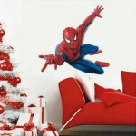 Hero Spiderman Grand sticker mural Spiderman pour chambre d'enfant de la marque Spiderman image 1 produit
