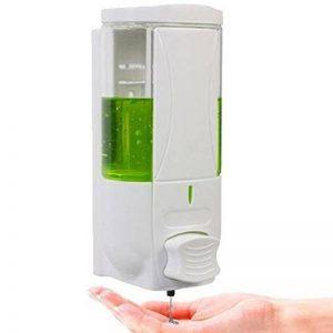 Hinmay - Distributeur de savon de 500ml - Pompe à fixation murale- Pour cuisine, maison, bureau, hôpital, hotel, école, restaurant de la marque Hinmay image 0 produit