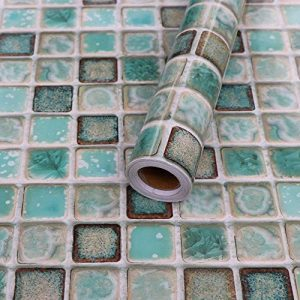 Hode Stickers Carrelage 40X200cm Autocollant Mural Imperméable Auto-adhésif en Mosaïque pour la Salle de Bain et la Cuisine (Vert) de la marque Hode image 0 produit
