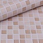 Hode Stickers Carrelage 40X300cm Autocollant Mural Imperméable Auto-adhésif en Mosaïque pour la Salle de Bain et la Cuisine (Couleur Claire) de la marque Hode image 1 produit