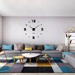 Horloge murale mute DIY Grand moderne Sticker 3D Home Office Decor cadeau-2 ans de garantie de la marque VANGOLD image 2 produit