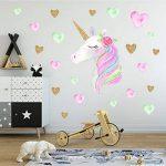 HUABEI Stickers Muraux Licorne Chambre Bébé Autocollants Mural Enfants Garderie Décoration de la marque HUABEI image 2 produit