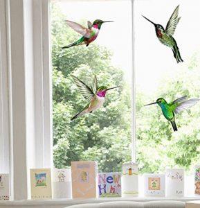 Hummingbird Window Stickers de la marque Stickers4 image 0 produit