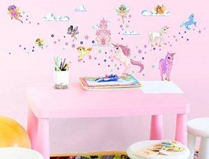 I-love-Wandtattoo Stickers muraux Chambre d'enfants Les fées et Licornes Stickers muraux Sticker de la marque dekodino image 0 produit