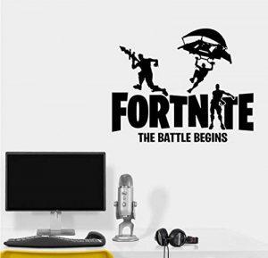 Jeux Battle Royale Logo Ados Garçon Chambre Decal Mur Vinyle Stickers Art Décor À La Maison autocollants pour les chambres d'enfants Affiche Murale 58x46cm de la marque GUOXIN12 image 0 produit