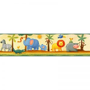 Jomoval Room Mates Frise murale Enfant Aventure dans la jungle de la marque RoomMates image 0 produit