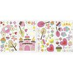 Jomoval Room Mates Stickers muraux repositionnables Château cupcake de la marque Thedecofactory image 1 produit