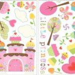 Jomoval Room Mates Stickers muraux repositionnables Château cupcake de la marque Thedecofactory image 2 produit