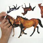Jomoval RoomMates Sticker mural pour enfant Repositionnable Chevaux de la marque RoomMates image 4 produit