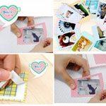 JZK® 140 x Instantané instax photo cadres bordures autocollants pour Fujifilm Instax Mini 8 7s 25 50s 90 et Polaroid Snap PIC-300 Z2300 Zip photos instantanées de la marque JZK image 2 produit