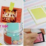 JZK® 140 x Instantané instax photo cadres bordures autocollants pour Fujifilm Instax Mini 8 7s 25 50s 90 et Polaroid Snap PIC-300 Z2300 Zip photos instantanées de la marque JZK image 3 produit