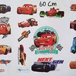 Kibi Stickers Muraux Cars 3 Disney Wall Decal Enfants Chambre Bébé Décoration Autocollants Muraux Cars Disney stickers Muraux Personnalisé Stickers Mural 3d Amovible de la marque Kibi Store image 4 produit