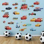 Kibi Stickers Muraux Cars 3 Disney Wall Decal Enfants Chambre Bébé Décoration Autocollants Muraux Cars Disney stickers Muraux Personnalisé Stickers Mural 3d Amovible de la marque Kibi Store image 2 produit