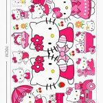 Kibi Stickers Muraux Hello Kitty Autocollants Enfants Hello Kitty Stickers Muraux Enfants Hello Kitty Stickers Muraux Chambre Enfants Wall Sticker Hello Kitty Stickers XXL de la marque Kibi Store image 3 produit