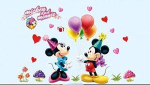 Kibi Stickers Muraux Mickey Stickers Muraux Minnie et Mickey Stickers Muraux Enfants Mickey Stickers Muraux Chambre Bébé Autocollants Mickey Mouse Autocollants Enfants Mickey de la marque Kibi Store image 0 produit