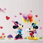Kibi Stickers Muraux Mickey Stickers Muraux Minnie et Mickey Stickers Muraux Enfants Mickey Stickers Muraux Chambre Bébé Autocollants Mickey Mouse Autocollants Enfants Mickey de la marque Kibi Store image 3 produit
