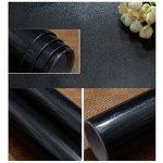KINLO 5 * 0.61M Papier Peint Auto-Adhésif Noir Armoire de Cuisine en PVC Imperméable Style Moderne Stickers Autocollant Muraux Étanche Décoration Chambre Salon Meuble de la marque KINLO image 3 produit