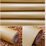 KINLO 5 * 0.61M Papier Peint Cuisine Autocollant Imperméable Anti-Moisissure Or en PVC Stickers Cuisine High-Tech à Décor & Protèction Chambre Armoire Meuble Salon Mur de la marque KINLO image 4 produit