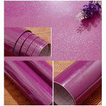 KINLO 5 * 0.61M Stickers Frigo Auto-Adhésif Violet Armoire de Cuisine en PVC Imperméable Style Moderne Stickers Autocollant Muraux Étanche Décoration Chambre Salon Meuble de la marque KINLO image 4 produit