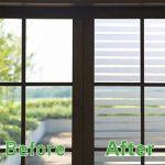 KINLO Film Vitre 90X200CM Électrostatique Protéger Intimité en PVC Film Fenêtre Autocollant sans Colle Plus Large Sticker Fenêtre Anti-UV pour Bureau Maison Salle de Bain-Verre Dépoli Anti-Regard de la marque KINLO image 3 produit