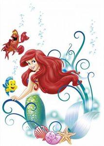 Komar 14013h Disney La Petite Sirène Ariel Freestyle Sticker Deco–Multicolore (9) de la marque Komar image 0 produit