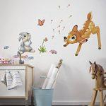 Komar 14043h Disney Bambi Freestyle Sticker Deco–Multicolore (17pièces) de la marque Komar image 1 produit
