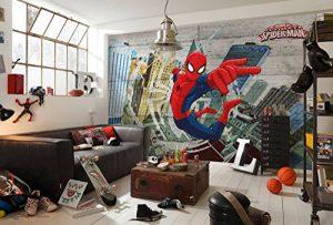 Komar Marvel Spider-Man Concrete Fresque Spider-Man en 8pièces Multicolore de la marque Komar image 0 produit