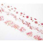 L'amour du Cerisier, Washi Pastel, Bullet Journal Stickers (1lot de 3pièces) de la marque FineFun image 4 produit